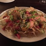 Ahi tuna nachos! Not your ordinary nachos platter but a brilliant appetizer nonetheless.