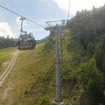 Arrivo al monte Lussari