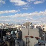 Visão da cidade do alto do Edifício Martinelli