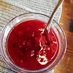 Summer berry compote.
