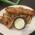 Fish & chips, with tarter sauce!