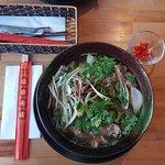 Pho bho klassisch mit Rindfleisch.