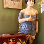 Just some amazing figureheads in the entrance to the Victory hotel