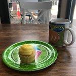 Lemon mini-cupcake