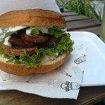 Photo of KROWARZYWA Vegan Burger Brzozowa