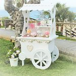 Wooden Candy Cart for RENT