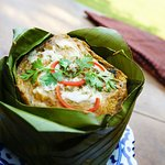Cambodia's esteemed fish amok on our menu at Kravanh.