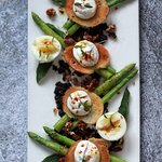 Asparagus and Goat Cheese
