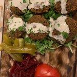 Falafel con crema di Tahina