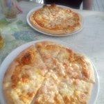 pizza z krewetkami