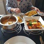 Main Dishes Chicken Korma and Jalfrezi
