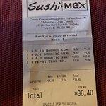 Zdjęcie Sushi Mex  - Boulevard El Faro