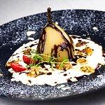 Restauracja Malutkie Resort | Gruszka w białym winie