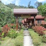 Entrance of Hot spring resort