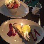 Dessert - Creme Brulee and Key Lime Pie