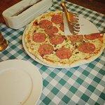 Чудесная пицца на тонком тесте