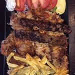 kebap-pork portion