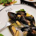 Mussel white wine
