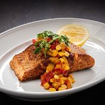 Trying out a healthier lifestyle? Enjoy our delicious salmon steak for lunch at 56th Avenue Diner.