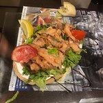 Brushetta de saumon