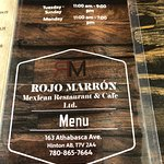 ภาพถ่ายของ Rojo Marron Mexican Restaurant & Cafe