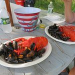 Mussels or cole slaw as your side? NO COMPARISON!