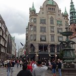 Strøget and the fountain