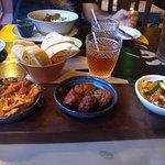 My tapas main course - delicious