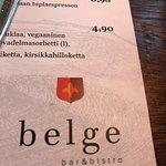 Valokuva: Belge bar&bistro