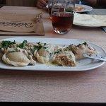 Pierogi z restauracji Albatros