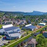 Vue aérienne du Centre Sportif Vallée de Joux