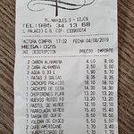 25€ el cubierto por comida de mala calidad y poca cantidad.