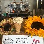 Organic Sunflower Gelato 🍦😋