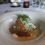 The whitefish dish was very good
