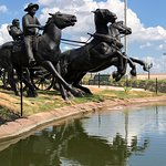 Centennial Land Run Monument – fotografija