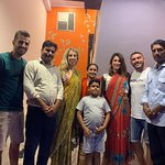 Thank you so much for a small get together with me and my family at my home and for giving us a grand opportunity to show the Indian hospitality to you as well.   #KAMAL INDIA TOUR  info@kamalindiatour.com  WWW.KAMALINDIATOUR.COM