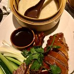Peking Duck roll your own pancakes