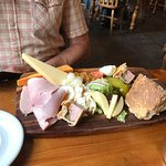 Delicious ploughmans with so much choice