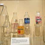 The bottles in the musuem that we spoke about