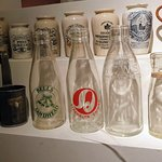 Bottles in the musuem that we spoke about