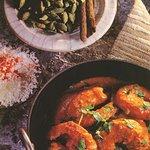 Tandoori King Prawn Dish