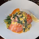 The Sockeye Salmon and Lobster Chef's Special.