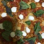 Pizza de molho de tomate