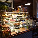Cakes are plentiful at Oskari