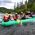 Water rafting at South Fork American River.