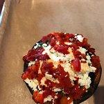 Portobello Mushroom sandwich, without the bun!