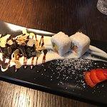 dezert - sladké sushi