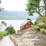 The Summer House Cottage.  A magical spot at The Lodge on Loch Goil.