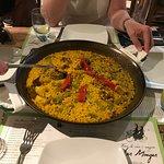 Paella Valenciana for two!