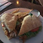 blackened chicken sandwich